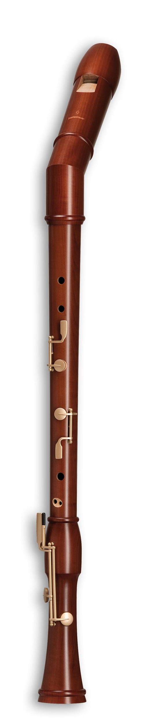 Mollenhauer Canta Knick Bass Recorder in Stained Pearwood