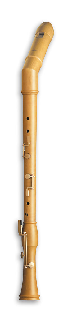 Mollenhauer Canta Knick Bass Recorder in Pearwood