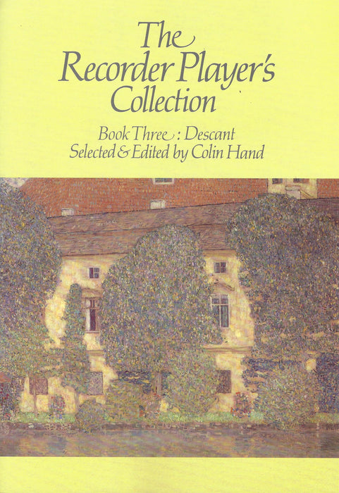 Hand (ed.): The Recorder Player's Collection, Book 3 for Descant Recorder