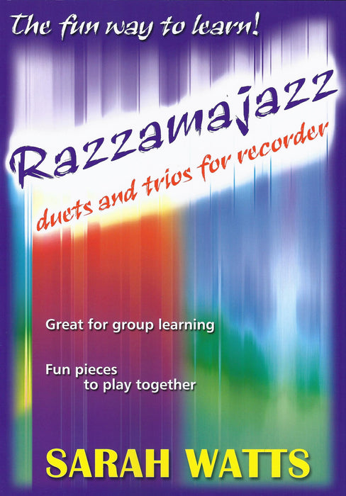 Watts: Razzamajazz Duets and Trios for Recorders