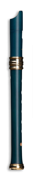 Mollenhauer Dream Soprano Recorder in Pearwood Blue Single Hole