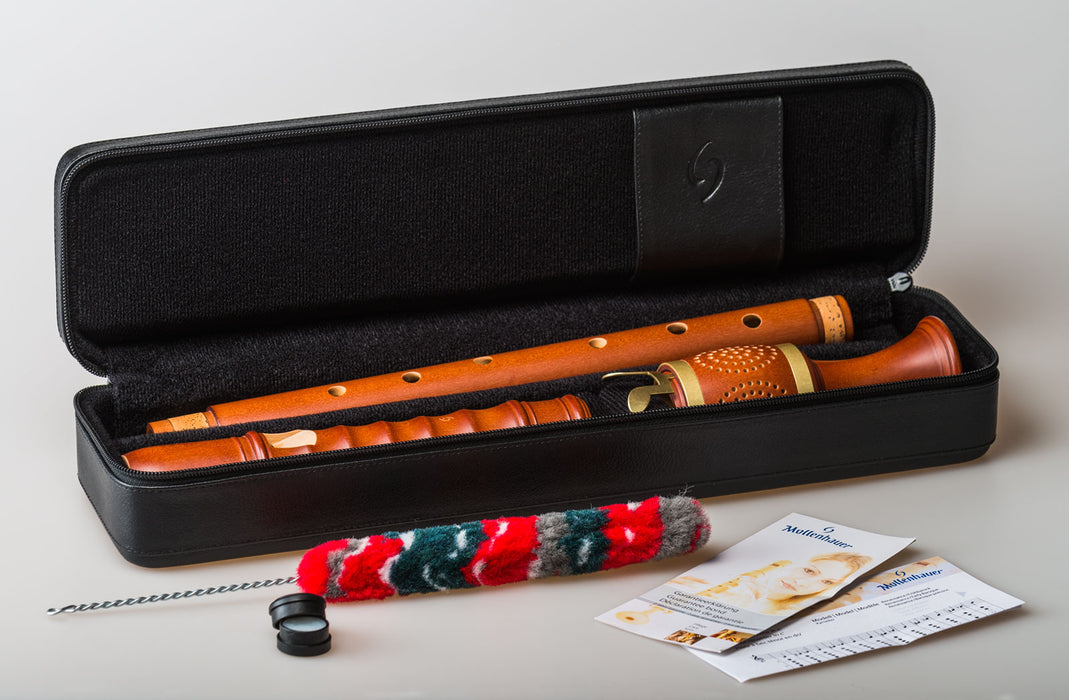 Mollenhauer Kynseker Tenor Recorder in Maple with Key