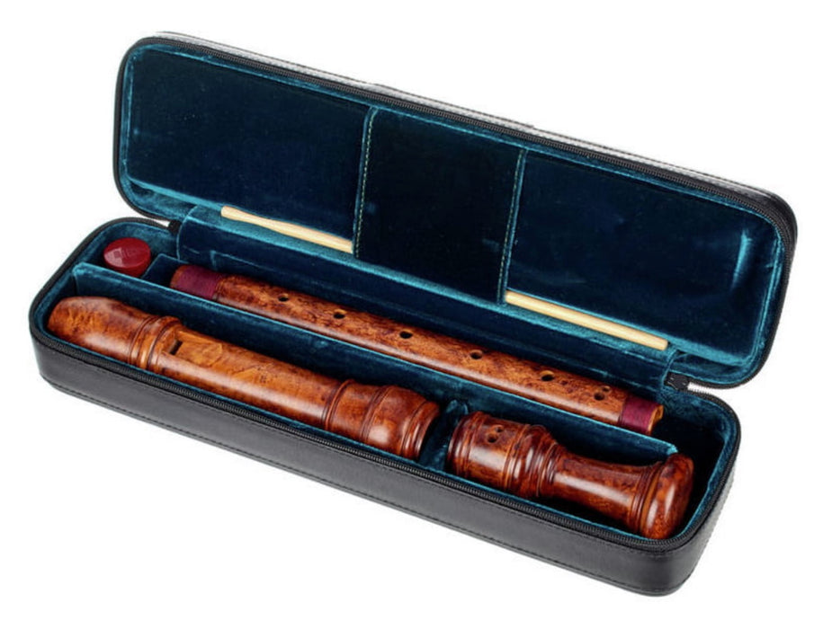 Moeck Alto Recorder after Stanesby in Stained Boxwood