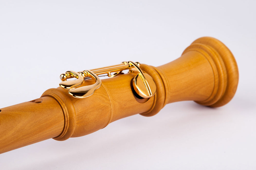 Mollenhauer Denner Tenor Recorder with Double Key in Pearwood