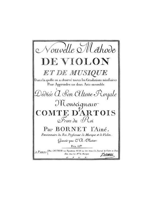 Methods & Treatises Violin Vol. 3 France 1600 - 1800