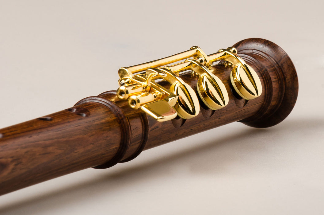 Mollenhauer Modern Alto Recorder with E-foot in Palisander