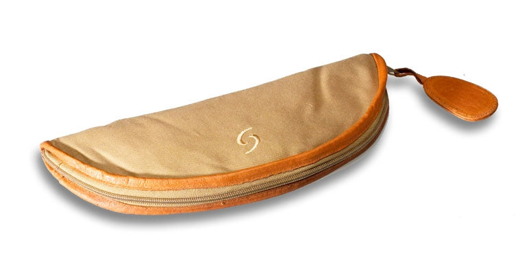 Mollenhauer Cotton/Leather Bag for Sopranino Recorder
