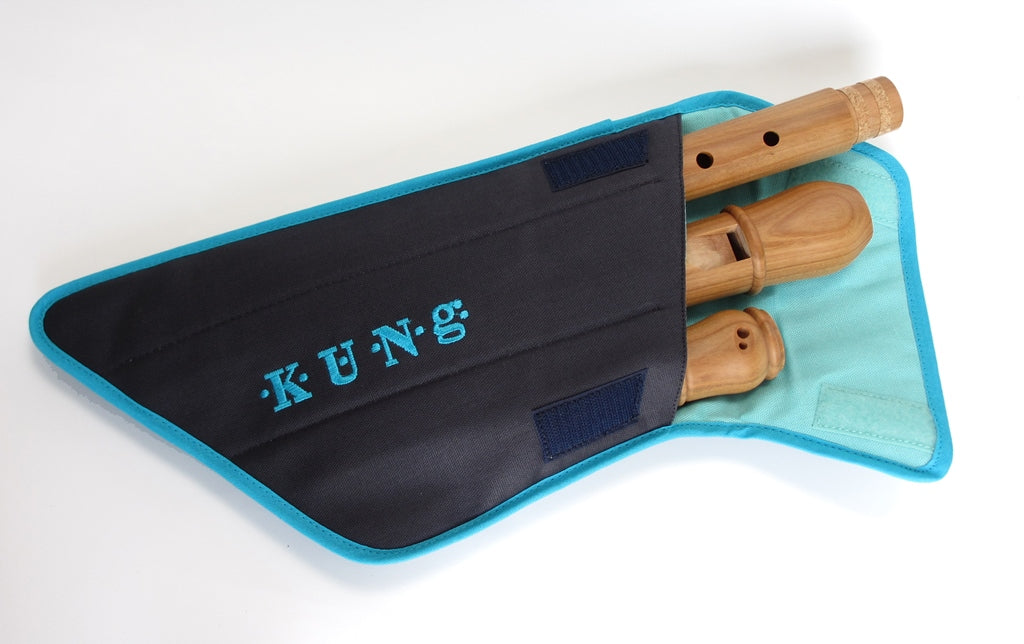 Canvas Tenor Recorder Case by Kung