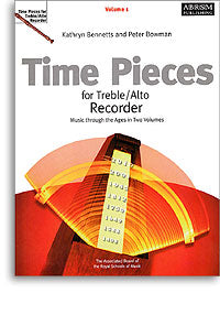 Time Pieces for Treble Recorder Vol. 1
