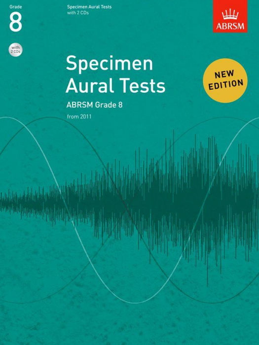 ABRSM Specimen Aural Tests Grade 8 (with CDs)