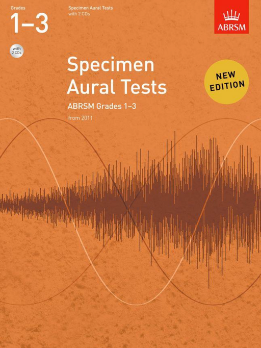 ABRSM Specimen Aural Tests Grades 1-3 (with CDs)
