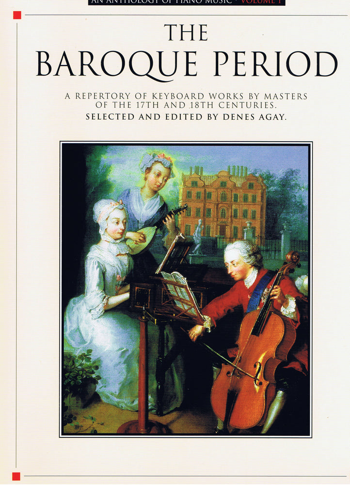Various: An Anthology of Piano Music Vol. 1 - The Baroque Period