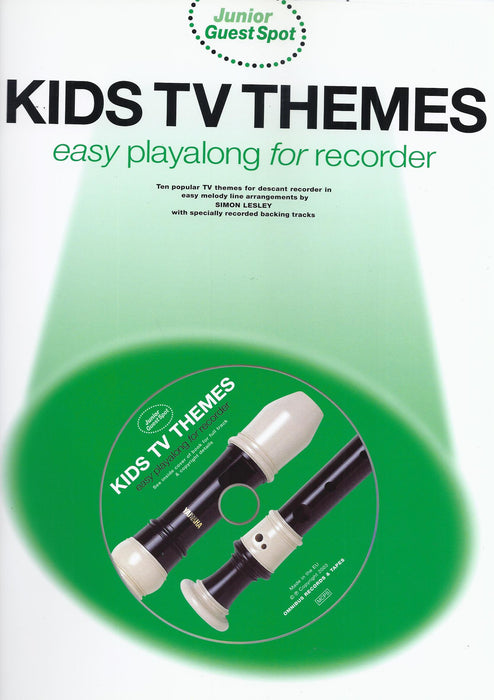 Various: Kids TV Themes - Easy Play-along for Recorder