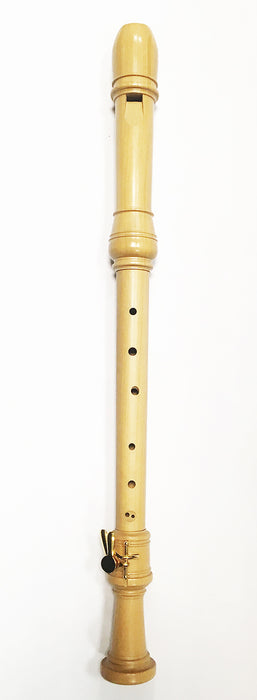 Aura Conservatorium Tenor Recorder with Double Key in Boxwood