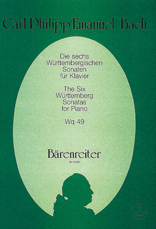 C. P. E. Bach: The 6 Württemberg Sonatas for Piano Wq 49