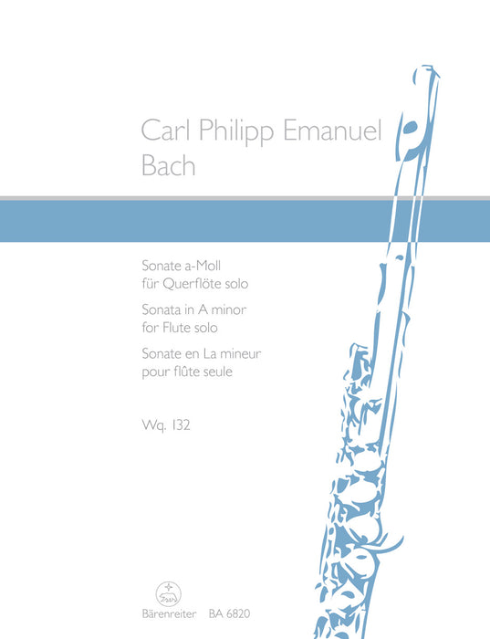 C.P.E. Bach: Sonata in A Minor for Flute Solo