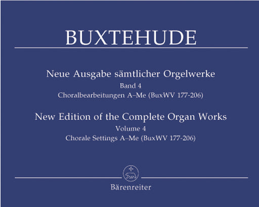 Buxtehude: Complete Organ Works, Vol. 4