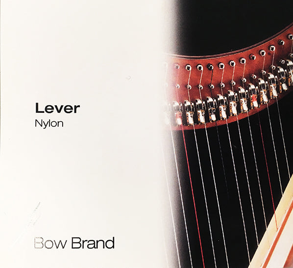 1st Octave D - Lever Harp Nylon String by Bow Brand