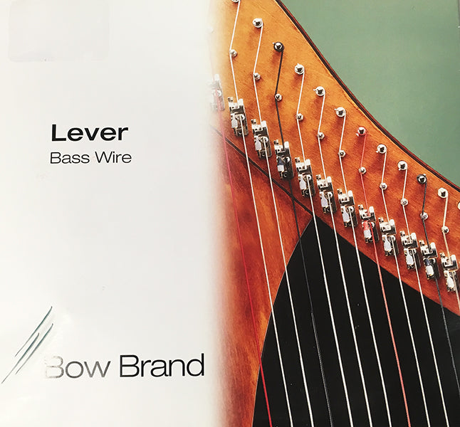 5th Octave D - Lever Harp Wire String by Bow Brand