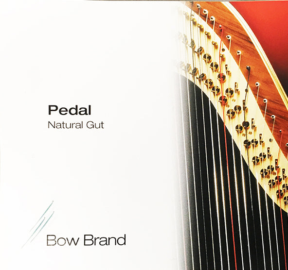 4th Octave D - Pedal Harp Gut String by Bow Brand