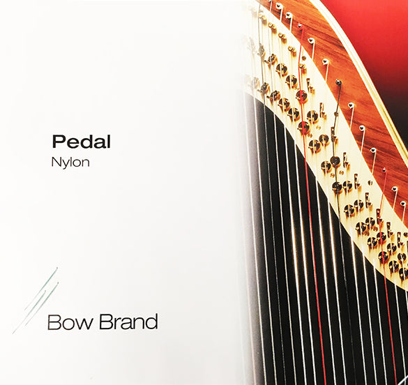 4th Octave D - Pedal Harp Nylon String by Bow Brand
