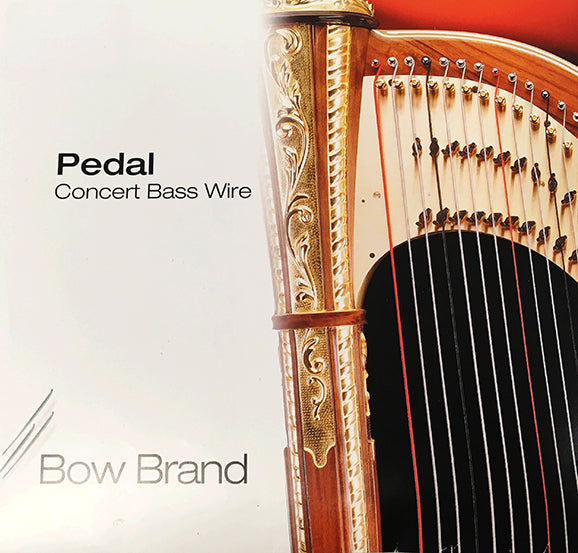 6th Octave D - Pedal Harp Wire String by Bow Brand