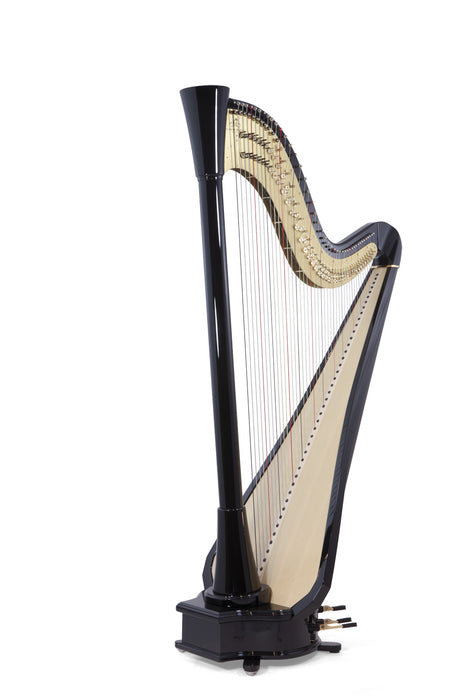 Camac Clio Extended TL 44 String Pedal Harp in Ebony