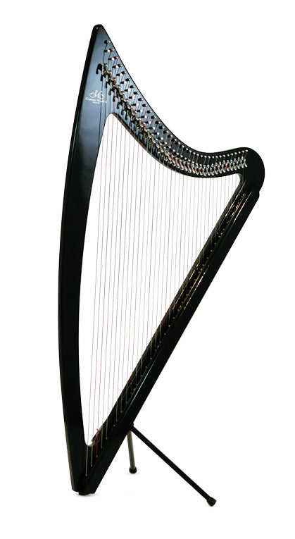 Camac DHC 36 Blue Light Electro Harp in Black