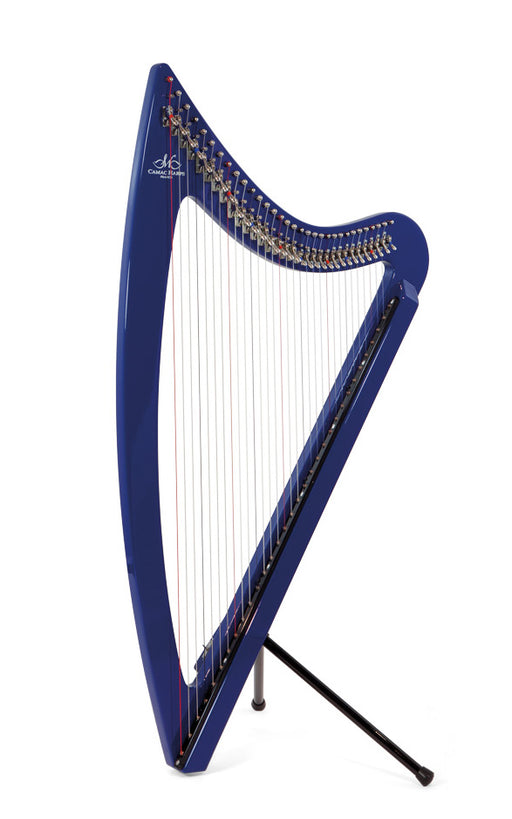 Camac DHC 32 Blue Light Electro Harp in Blue