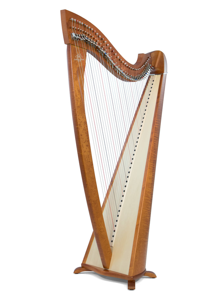 Camac Excalibur 38 String Harp in Cherry