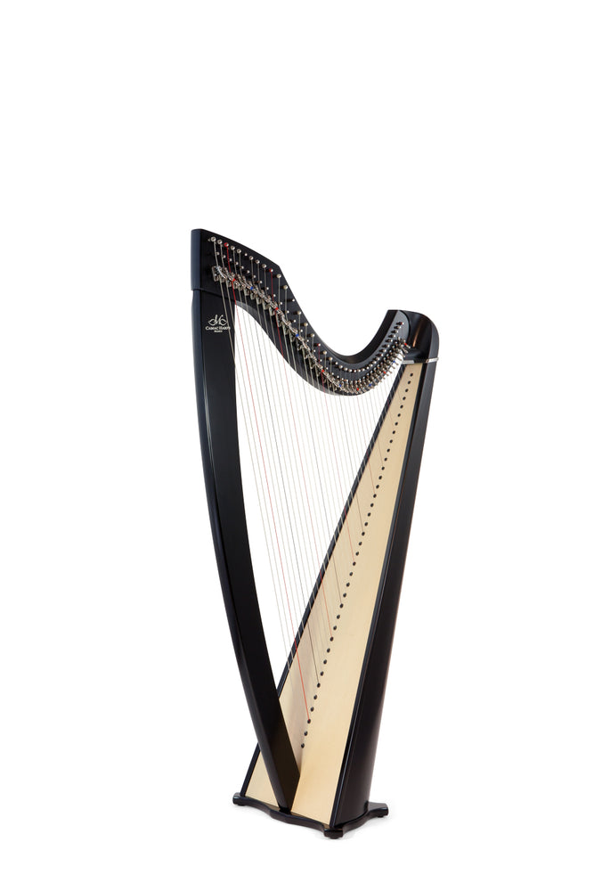 Camac Classical Isolde 38 String Harp in Ebony