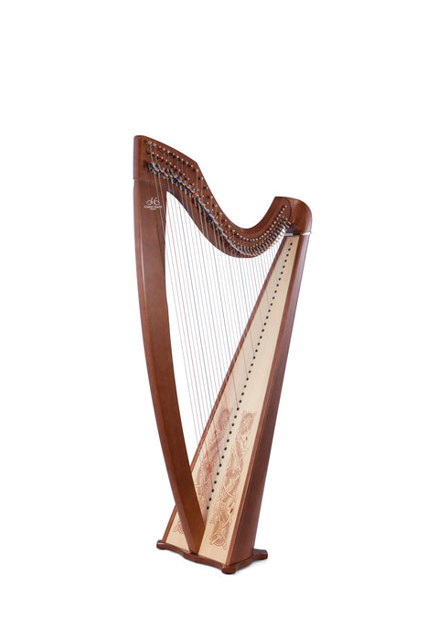 Camac Classical Isolde 38 String Harp in Walnut