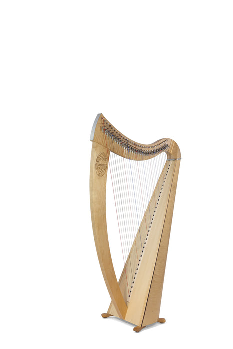 Camac Janet 34 String Harp in Maple