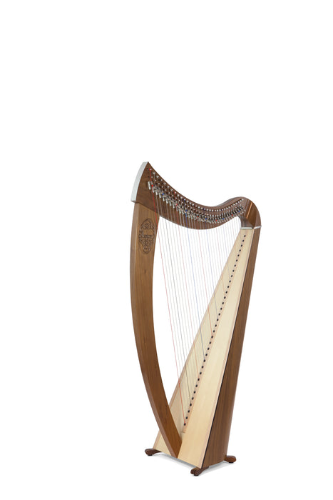 Camac Janet 34 String Harp in Walnut