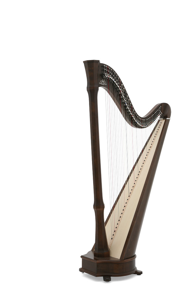 Camac Mademoiselle 40 String Harp in Walnut