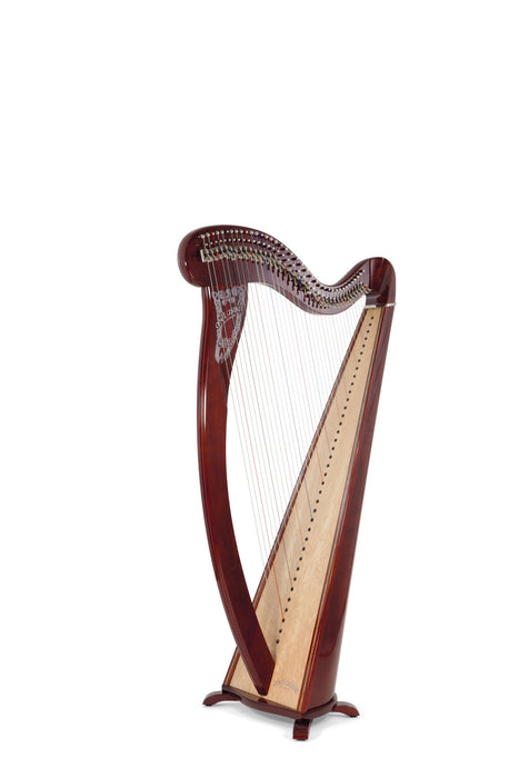 Camac Melusine De Concert 38 String Harp in Walnut