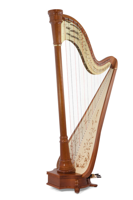 Camac Vendome 47-String Pedal Harp in Cherrywood