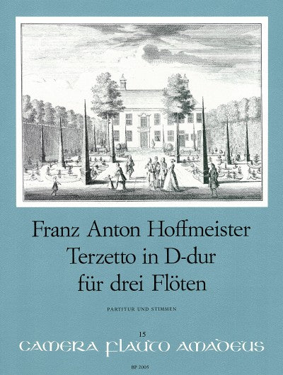 Hoffmeister: Terzetto in D Major for 3 Flutes