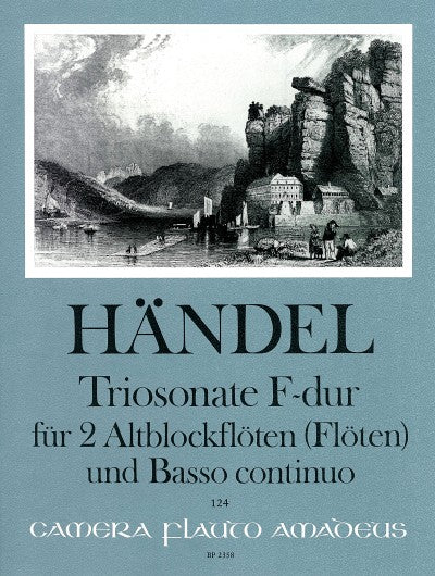 Handel: Trio Sonata in F Major for 2 Treble Recorders and Basso Continuo
