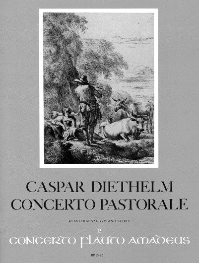 Diethelm: Concerto Pastorale - Piano Reduction