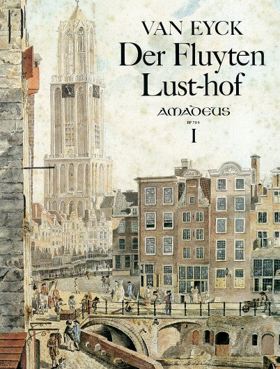 BP704 van Eyck - Der Fluyten Lust-hof Vol 1 at Early Music Shop