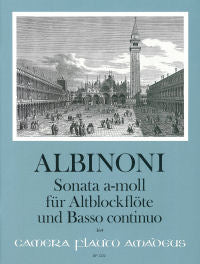 Albinoni: Sonata in A Minor for Alto Recorder and Basso Continuo