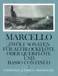 Marcello: 12 Sonatas for Alto Recorder and Continuo - Volume 4