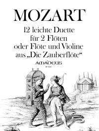 Mozart: 12 Easy Duets from 'The Magic Flute' for 2 Flutes