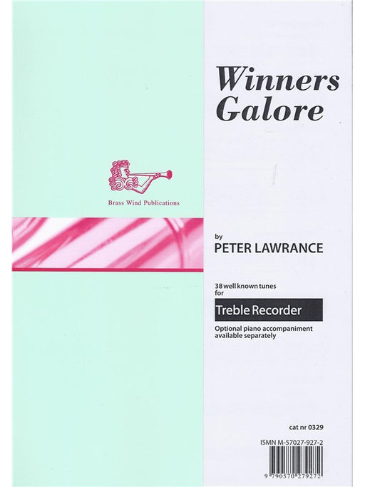 Lawrance (ed.): Winners Galore for Treble Recorder
