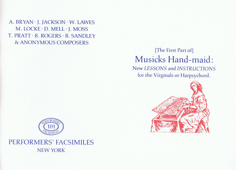Various: The First Part of Musicks Hand-maid