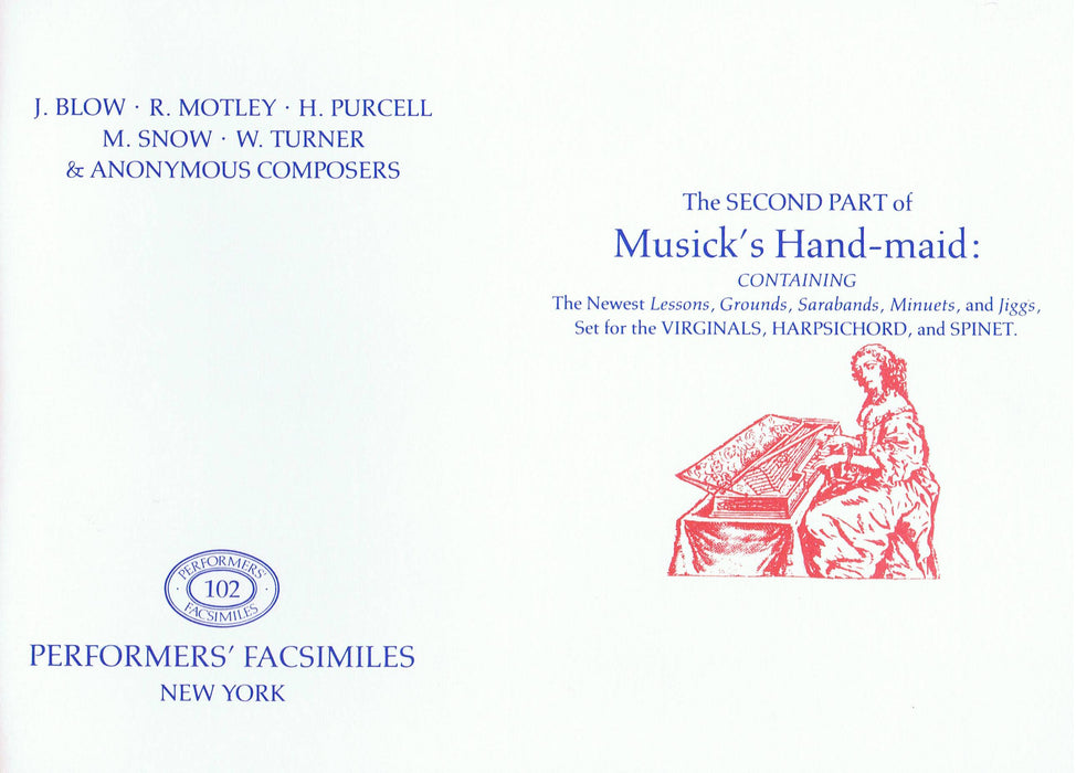 Various: The Second Part of Musicks Hand-maid