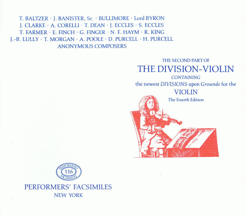 Various: The Second Part of the Division Violin