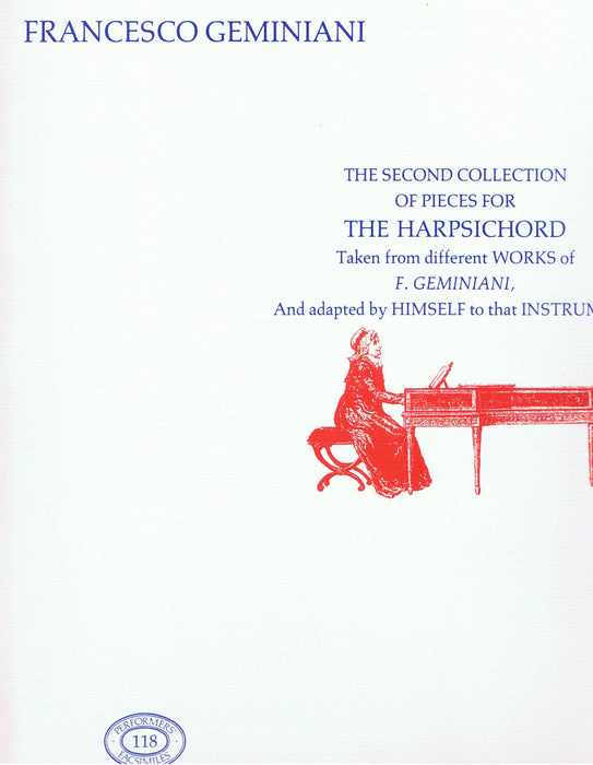 Geminiani: The Second Collection of Pieces for the Harpsichord