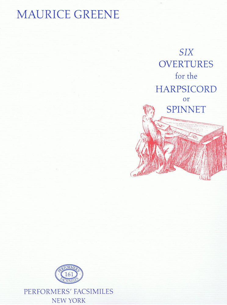 Greene: Six Overtures for the Harpsichord or Spinnet